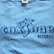 COXSONE T-SHIRT PALE BLUE & NAVY